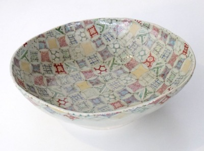 鉢 七宝古紋