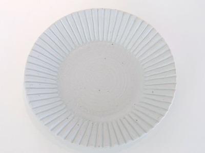 古白磁輪花