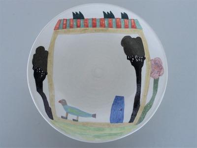 №2カレー皿(とり)