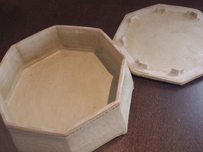 八角陶筥 蓋