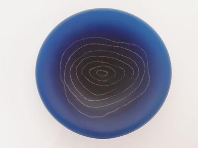 ルリ水たまり皿