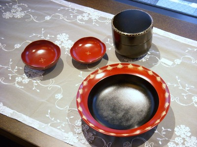 鉢と弁当箱