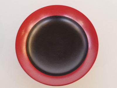 蒔地6寸鉢(赤)
