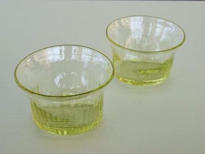 萌黄楕円小鉢