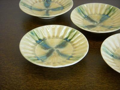 黄瀬戸小皿