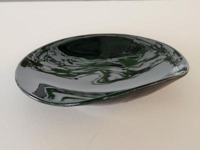 乾漆半月小皿横