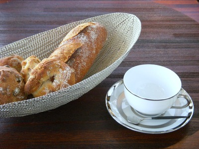 パンとカップと