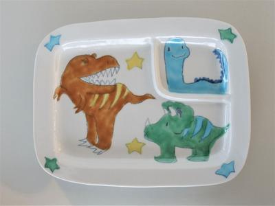 ランチプレート恐竜