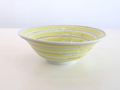 黄サビコマ碗(横)