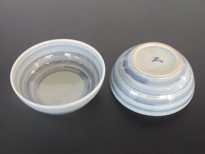 輪線文4寸鉢