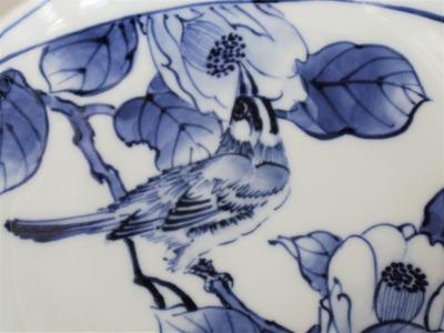 18 椿鳥文皿 ¥8,400 (2)