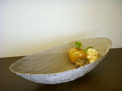 金属楕円鉢