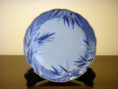 竹文8寸皿