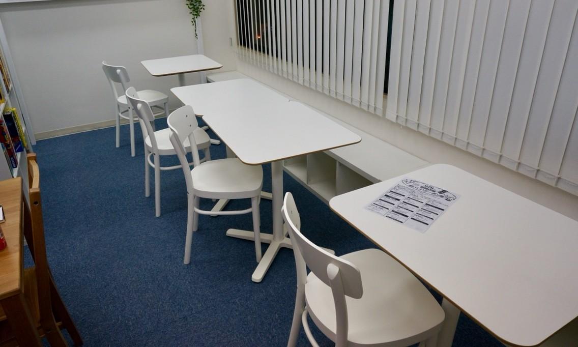 横浜・中華街/石川町のボードゲームショップ『リゴレ』:プレイスペースの様子①