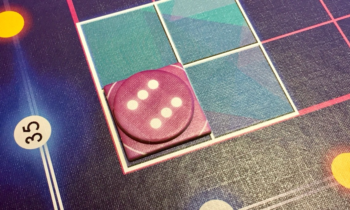 ボードゲーム紹介『グリュックス(Glüx)』:ゲームボード