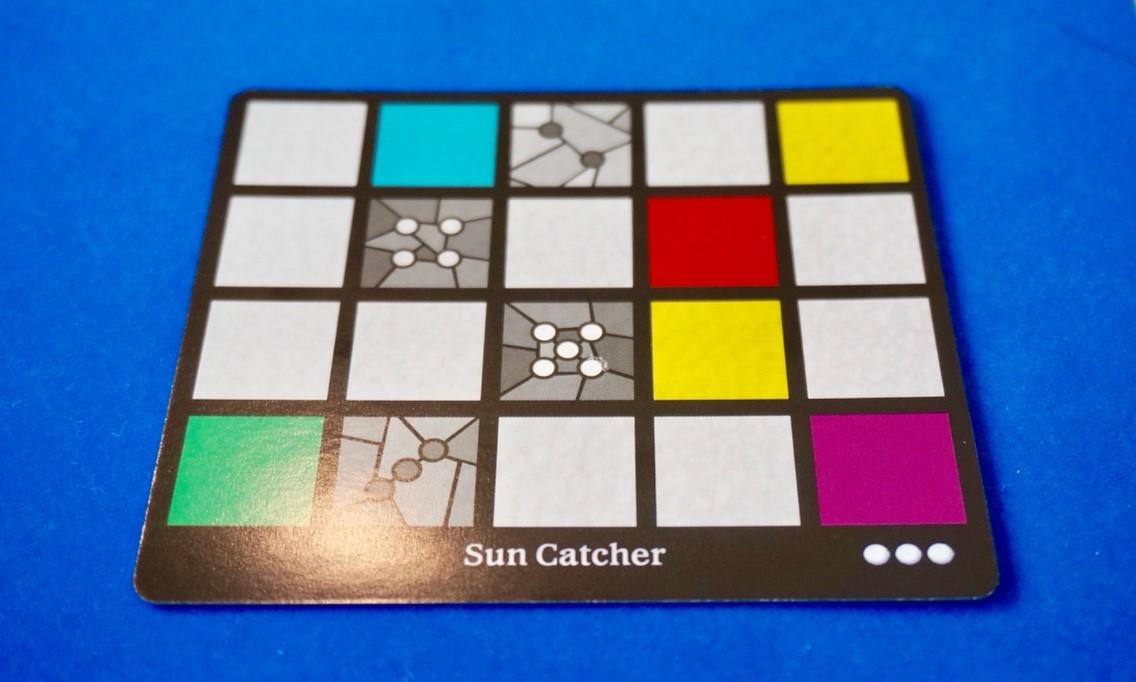 サグラダ:個人ボード用カード