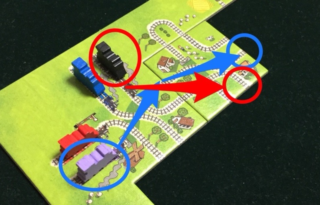ゲーム紹介『汽車は進むよ (Jedzie pociąg z daleka)』:汽車の移動