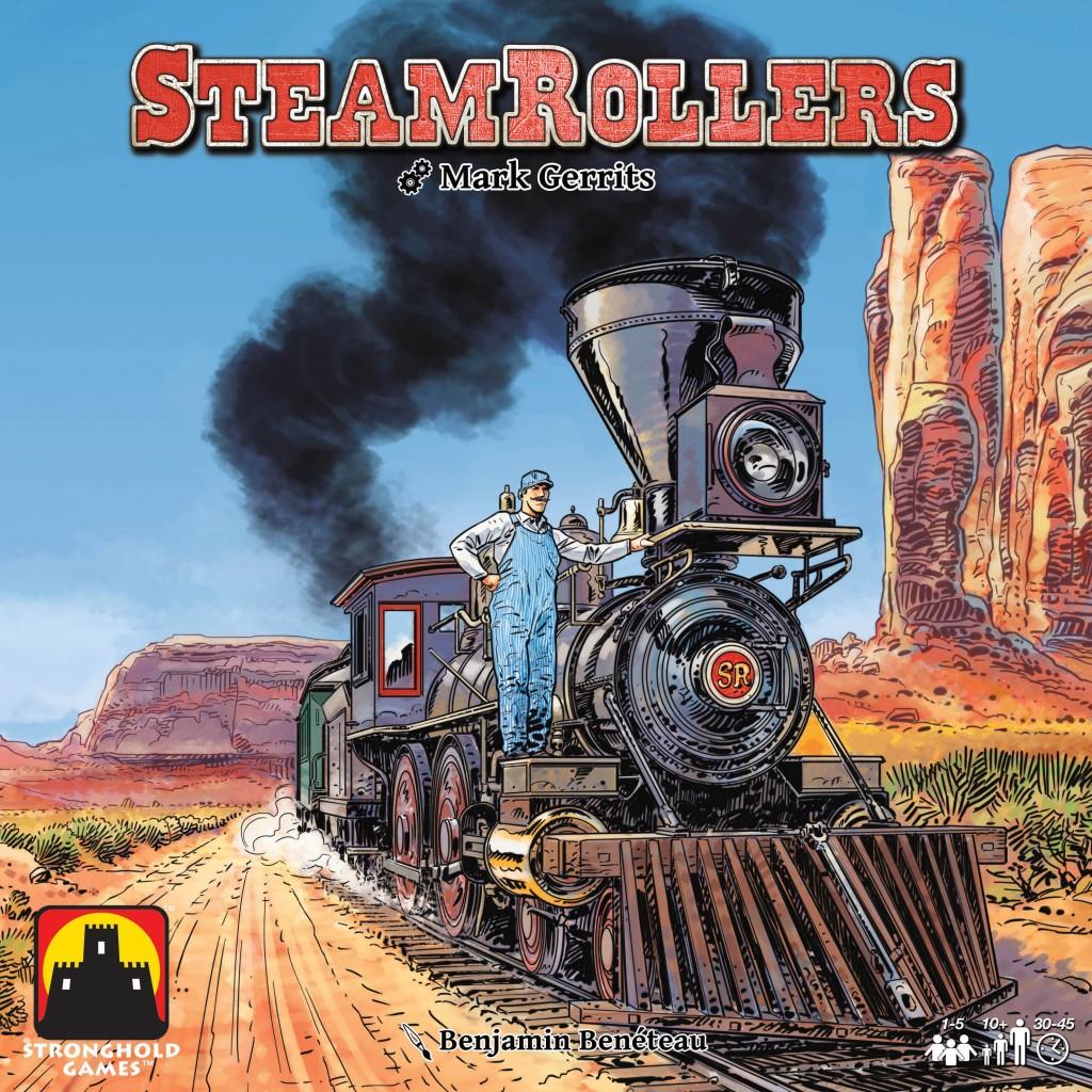スチームローラーズ (SteamRollers):ボックスアート