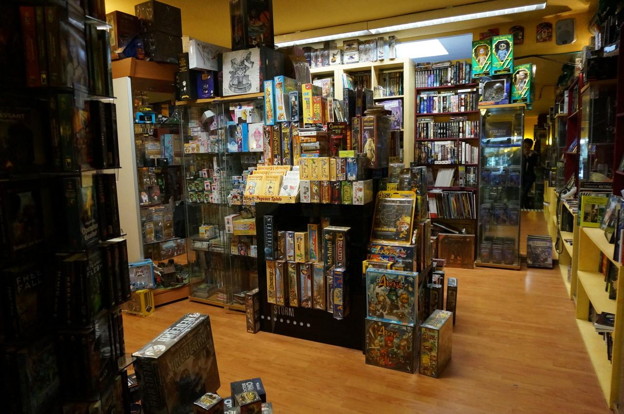 ドイツ・ケルンのボードゲーム専門店『Brave New World』に行ってみた