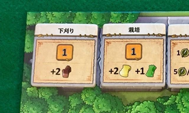 ゲーム紹介『カヴェルナ:洞窟対決 (Caverna: Cave vs Cave)下刈り/栽培