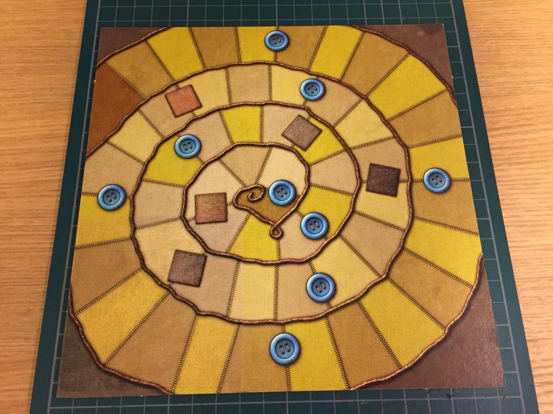 『パッチワーク』のゲームボードを新版にしてみた