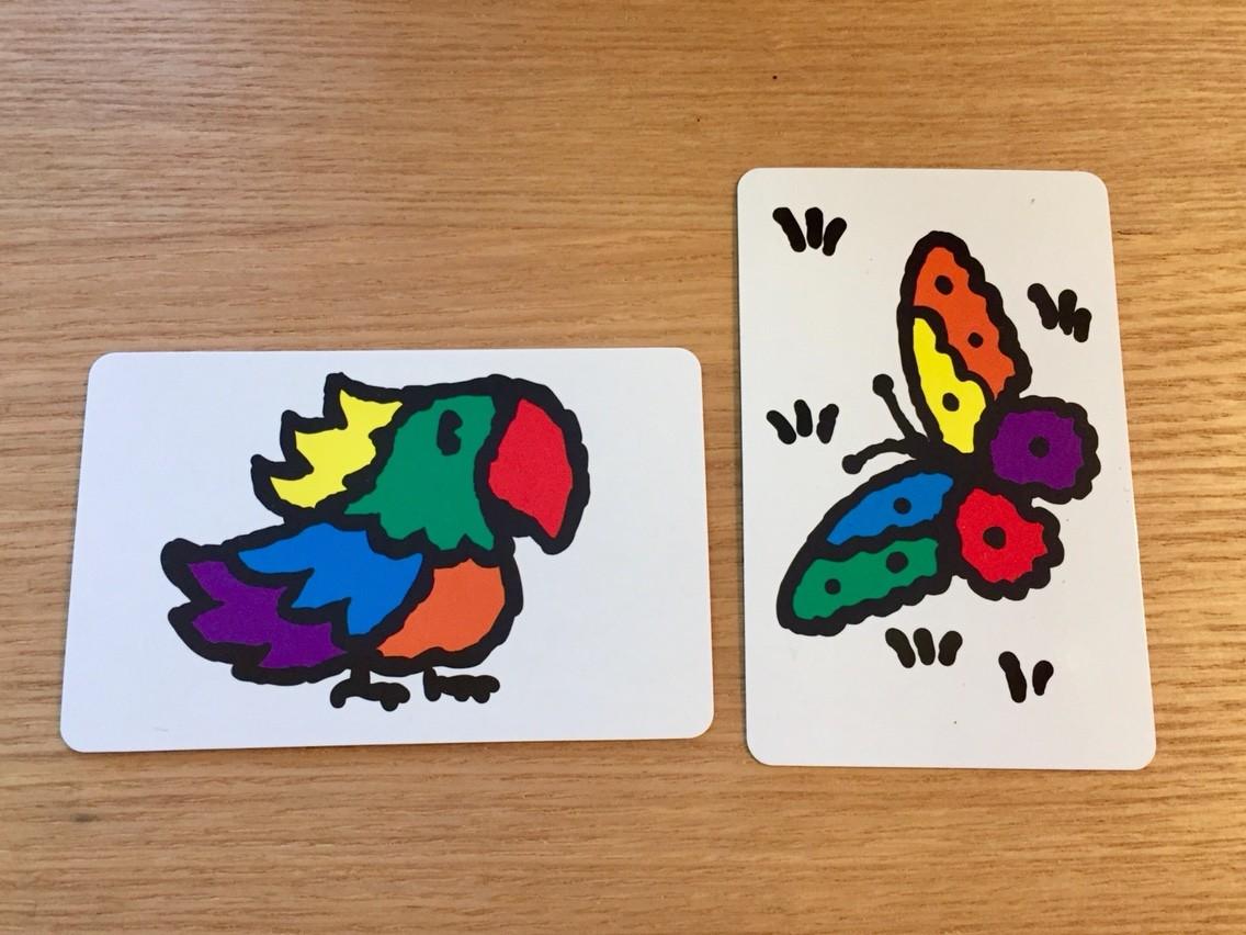 スピード・カラーズ (Speed Colors):カード表面