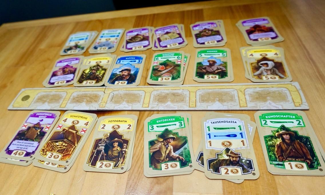 ゲーム紹介『エルドラド(Wettlauf nach El Dorado)』:購入用カード