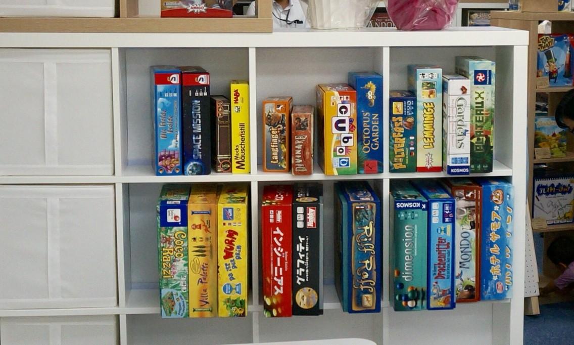 横浜・中華街/石川町のボードゲームショップ『リゴレ』:プレイスペースの様子④
