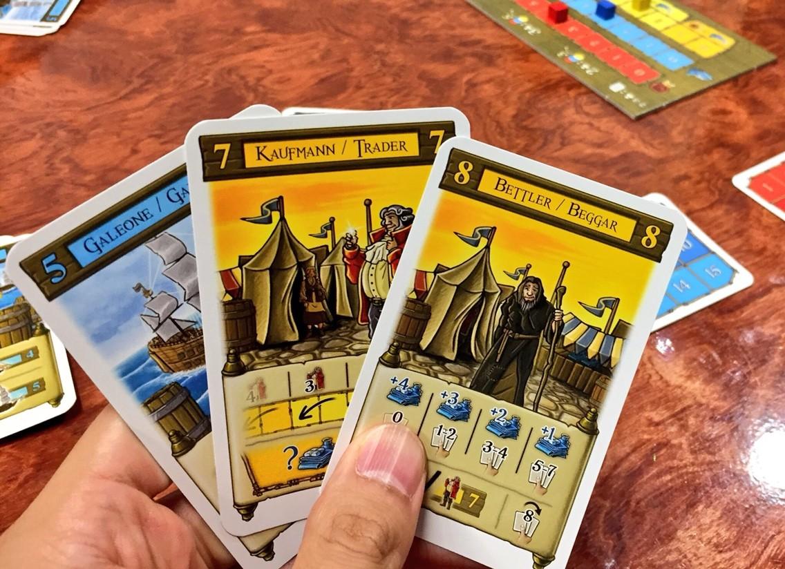 サント・ドミンゴ(Santo Domingo):カードを出す