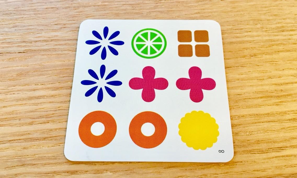 「今夜はナゾトレ」で紹介されたボードゲーム『ナインタイル』:お題カード