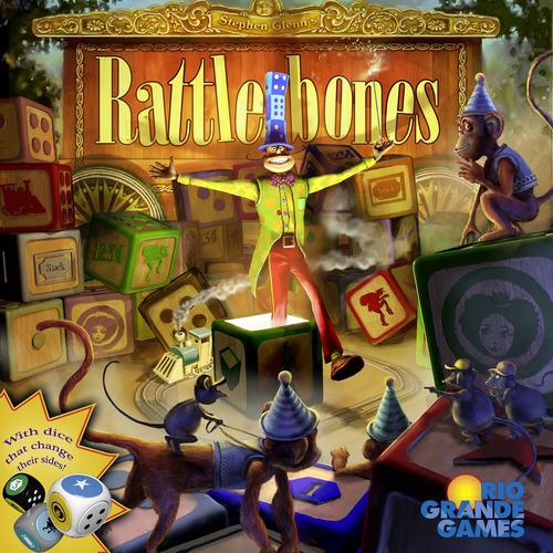 ゲーム紹介『ラットルボーン(Rattlebones)』:パッケージ