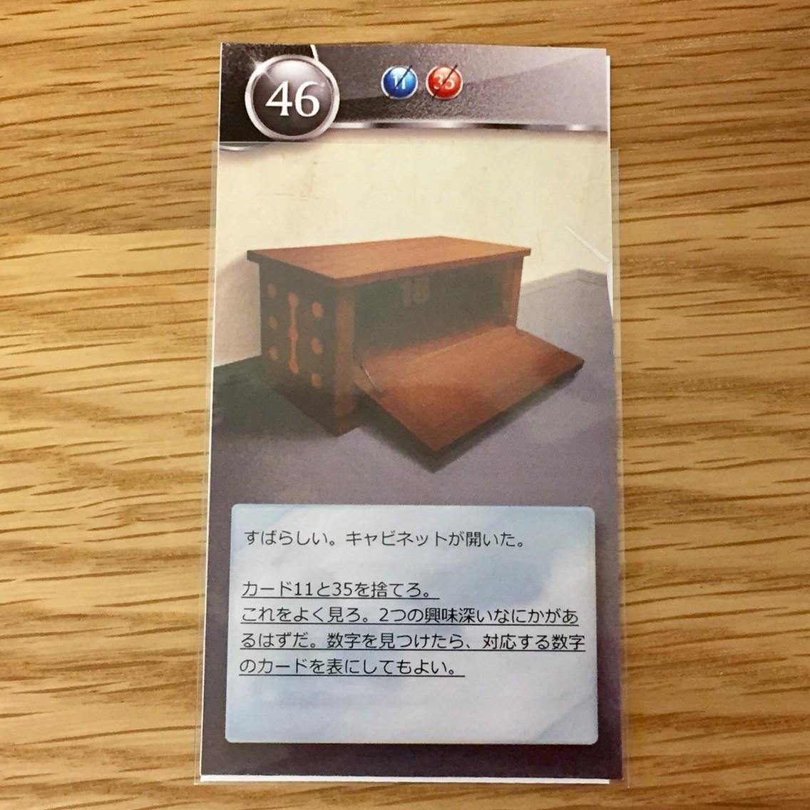 アンロック!(Unlock!):46のカード