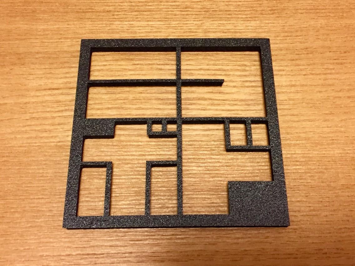 レーザーカッターでボードゲームの内箱を作ってみた