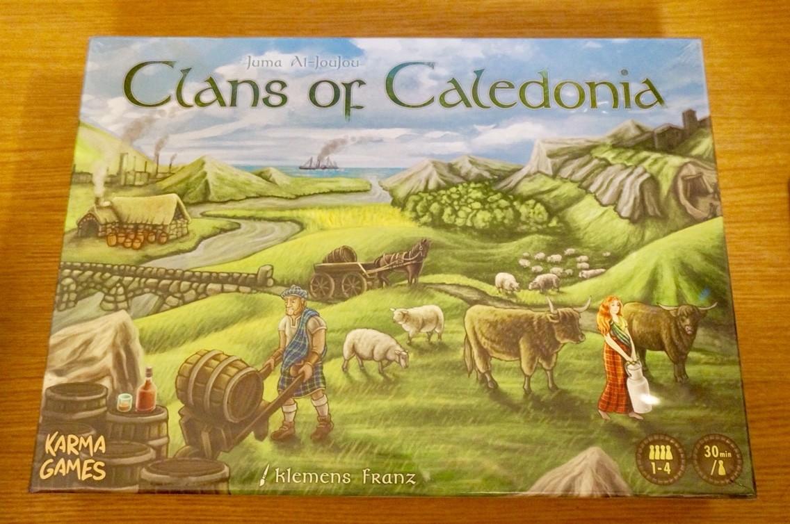 クランズ・オブ・カレドニア (Clans of Caledonia)
