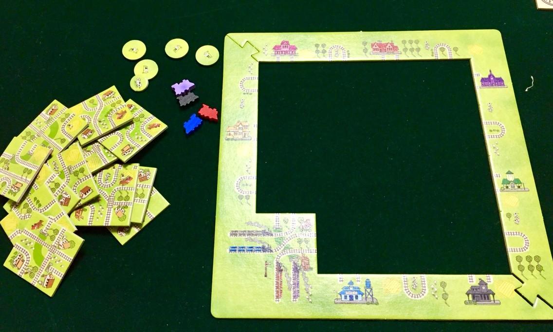 ゲーム紹介『汽車は進むよ (Jedzie pociąg z daleka)』:ゲームの準備