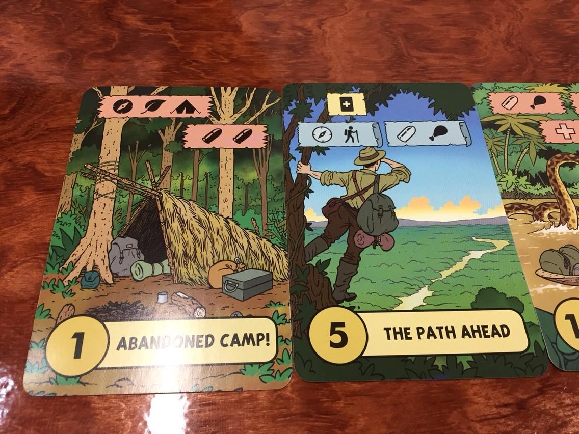 ロスト・エクスペディション(The Lost Expedition):探検カード
