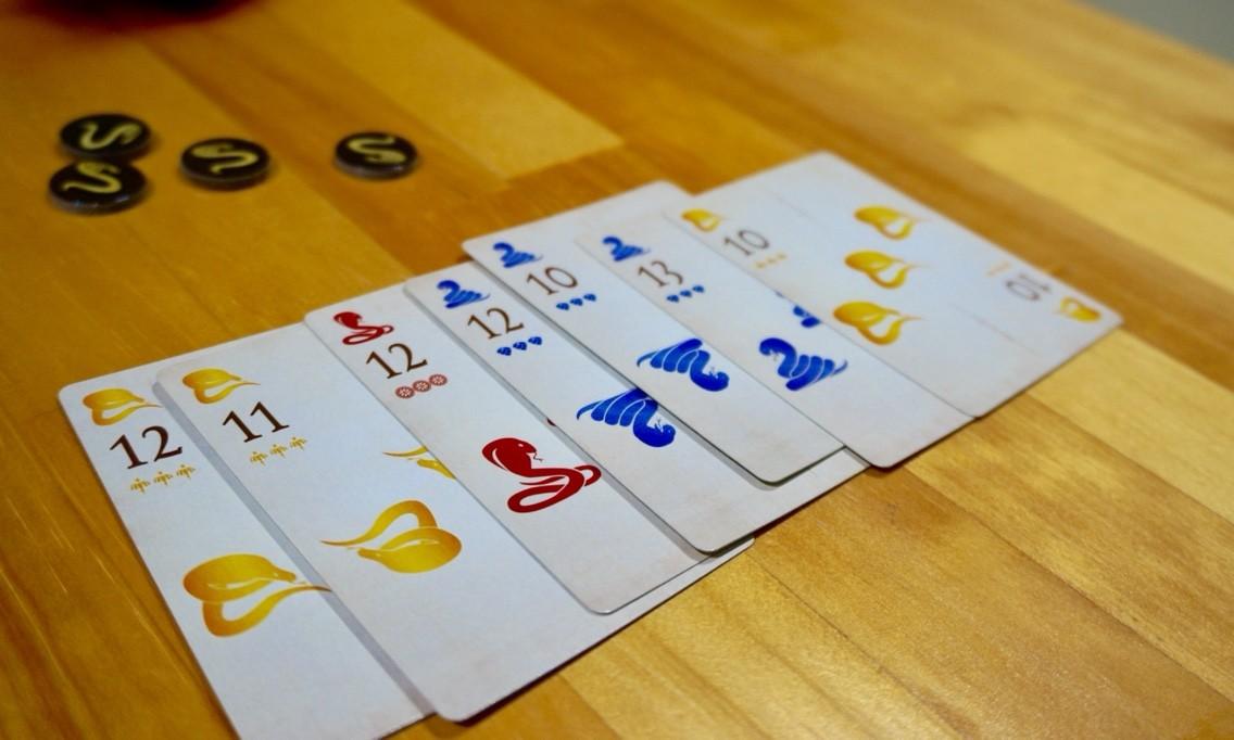 ボードゲームレビュー『コブラズ (Cobras)』:ラウンドの終了