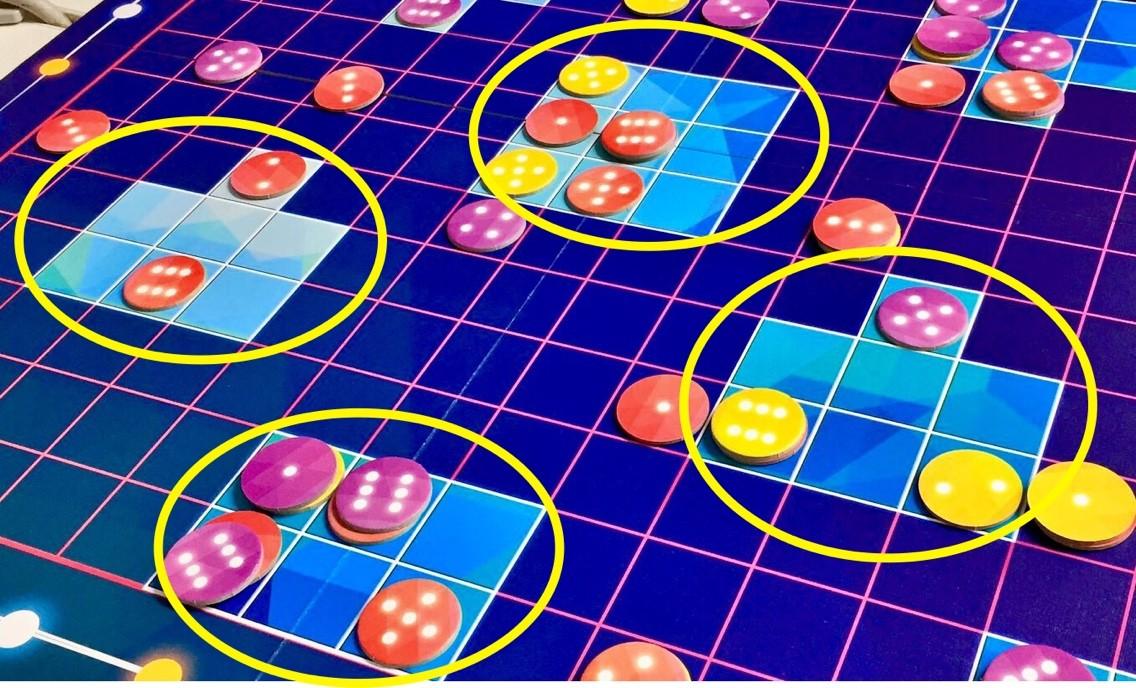 ボードゲーム紹介『グリュックス(Glüx)』:得点計算
