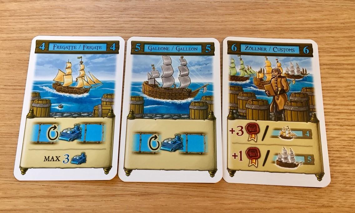 サント・ドミンゴ(Santo Domingo):アクションカード青