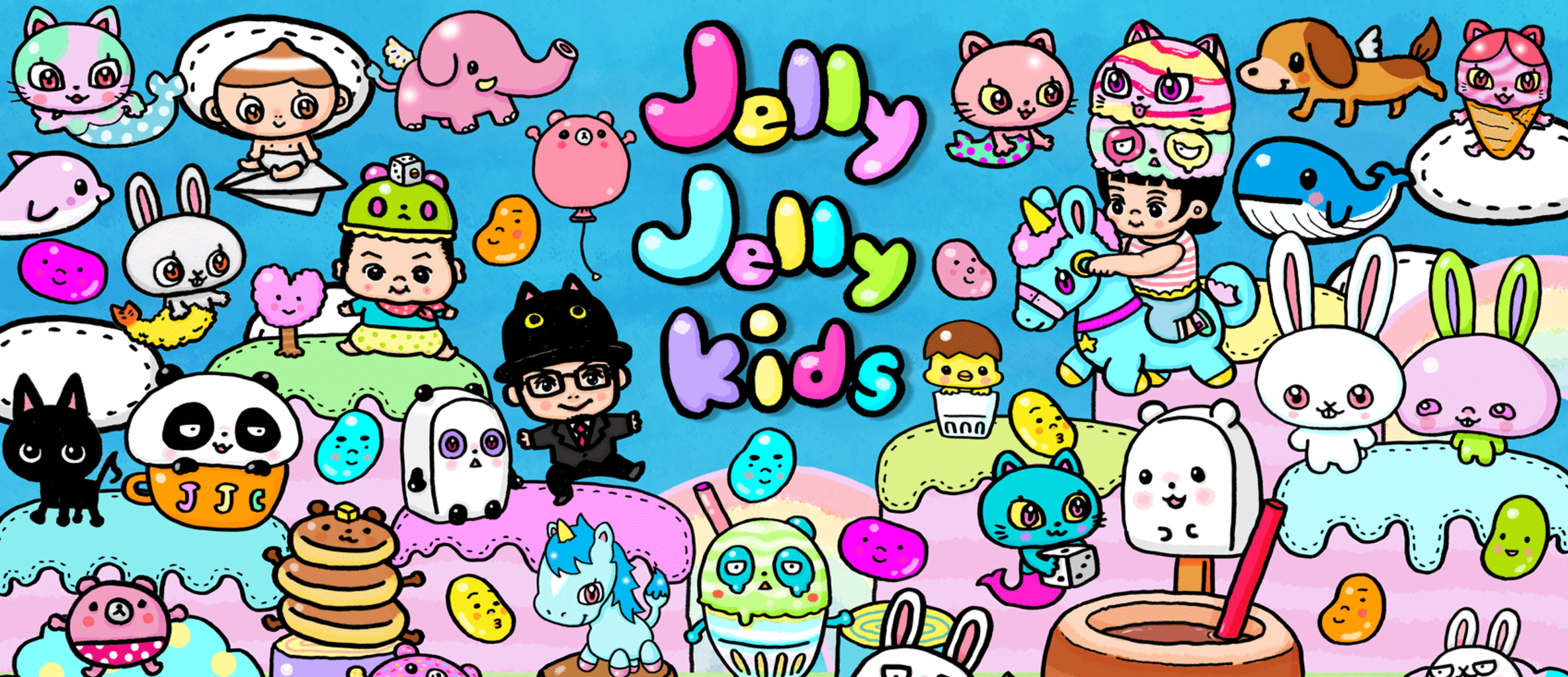 Jelly Jelly Kids:ロゴ