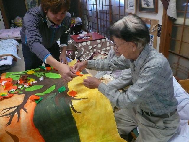 すべての折り紙 折り紙 かぼちゃ : いちじま憩いの家にて。 : 秋の ...
