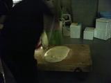 韓国の餅つき