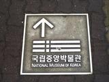 中央博物館への道