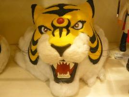タイガーマスクの鋭い眼