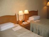03年・9月・TDR旅行・オリエンタルホテル・ベッド