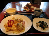 SUN DAYS INN 朝食・洋