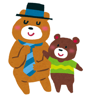 chichinohi_bears_oyako