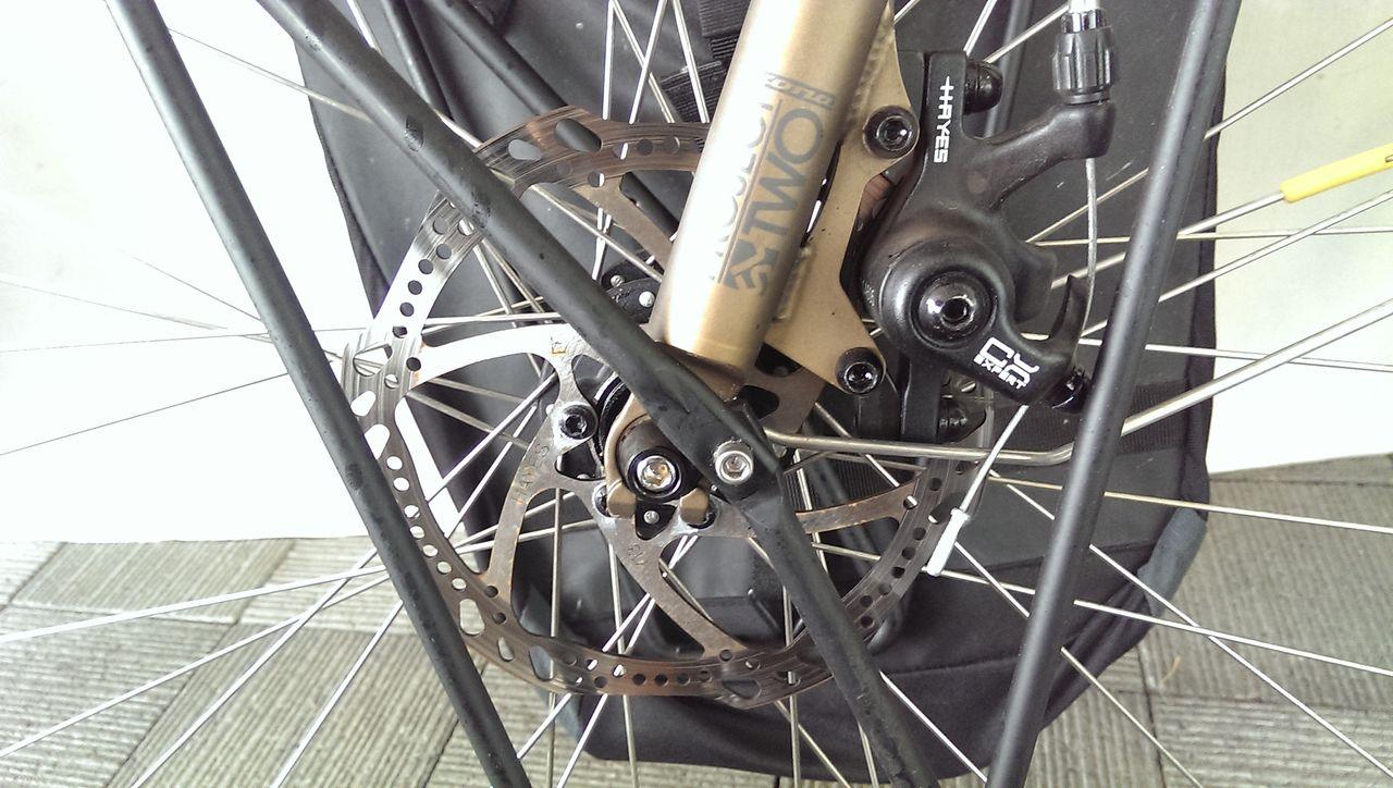 自転車の 雨の日 自転車 荷物 : まあ今日は良い機会ですので ...