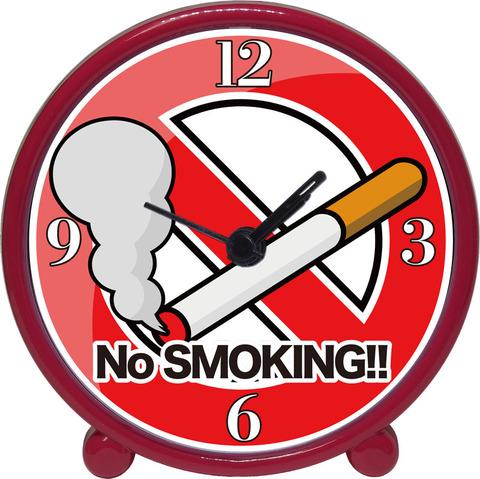 アラームクロック(レッド)禁煙