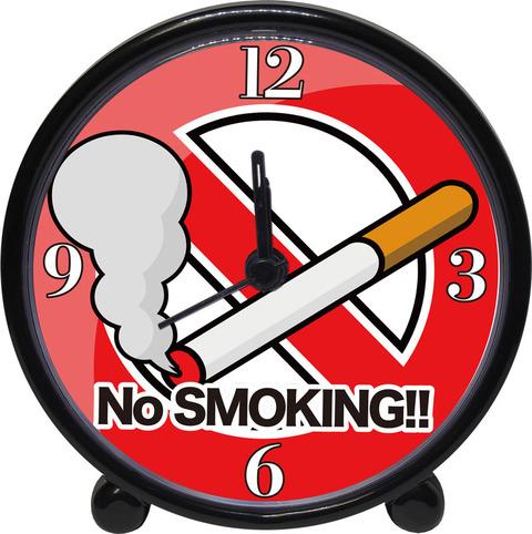アラームクロック(ブラック)禁煙